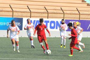U.16 nữ Việt Nam ghi 25 bàn ở giải châu Á
