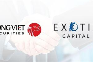 Công ty chứng khoán Rồng Việt trở thành đối tác của Exotix Capital tại Việt Nam