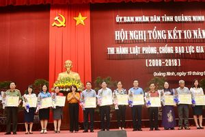 Quảng Ninh tăng cường tuyên truyền phổ biến Luật phòng, chống bạo lực gia đình