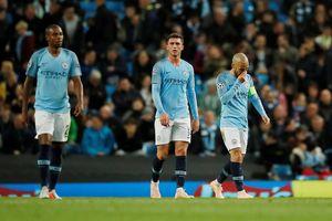 Nội bộ Man City bất hòa sau trận thua sốc Lyon