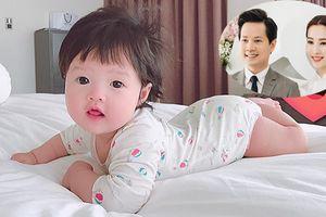 Hoa hậu Đặng Thu Thảo lần đầu công khai ảnh con gái xinh như thiên thần