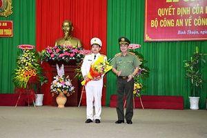 Bổ nhiệm Phó Cục trưởng làm Giám đốc Công an Bình Thuận