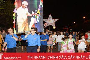 Trung thu sớm với các em nhỏ ở Hà Tĩnh