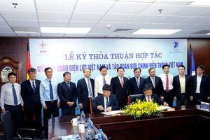 VNPT ký kết thỏa thuận hợp tác với EVN
