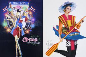 Mới chỉ là bản vẽ thôi mà trang phục dân tộc của Thái Lan tại Miss Universe 2018 đã độc đáo lắm rồi
