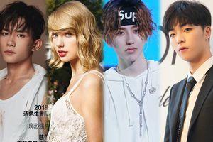 BXH sao quyền lực tuần 3 tháng 9 Weibo: Dịch Dương Thiên Tỉ tăng 11 hạng - Taylor Swift, Thái Từ Khôn đứng đầu