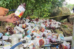Yên Bái còn 9 điểm bị ô nhiễm do hóa chất bảo vệ thực vật tồn lưu