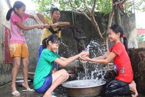 Tăng tín dụng thực hiện Chiến lược quốc gia về cấp nước sạch và và vệ sinh môi trường nông thôn