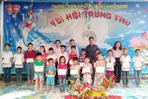 Chương trình Tết Trung thu tại Trường Mầm non thị trấn Lang Chánh