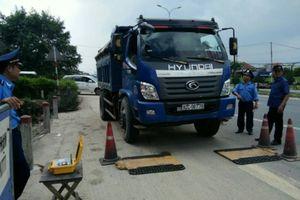 Liên tục phạt nặng xe quá tải sau phản ánh của Báo Giao thông