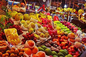 Tám tháng, nhập khẩu hơn nửa tỷ USD rau quả Thái Lan