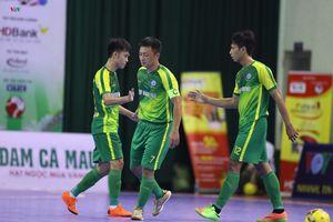Giải futsal HDBank VĐQG 2018: Sanatech Sanest Khánh Hòa chiếm ngôi nhì