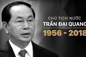 Infographic: Cuộc đời và sự nghiệp Chủ tịch nước Trần Đại Quang
