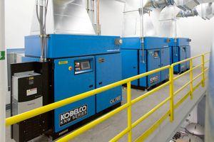 Chọn máy nén khí công nghiệp công suất lớn dòng nào tốt?