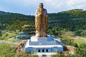 Trung Quốc dựng tượng Khổng Tử cao 72m lớn nhất thế giới