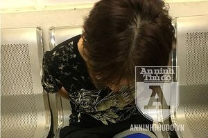 Cảnh sát Cơ động kiên quyết bắt giữ đối tượng nữ tàng trữ ma túy