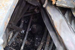 Xử lý sao khi thấy 2 thi thể bị cháy ở khu trọ của ông Hiệp 'Khùng'?