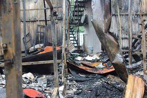 Nghi vấn 2 thi thể chết cháy trên đường Đê La Thành là người Phú Thọ
