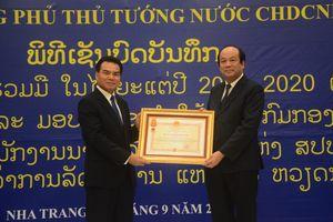 Chính phủ Lào lập Tổ công tác theo kinh nghiệm Việt Nam