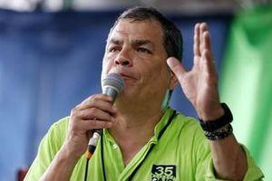 Cựu Tổng thống Ecuador Rafael Correa thoát lệnh truy nã