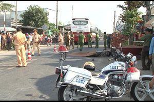 Cảnh sát giao thông gây tai nạn làm chết 2 người