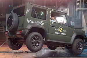 Xe giá rẻ Suzuki Jimny gây thất vọng về độ an toàn