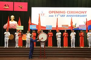 Trường Đại học Kinh tế - Tài chính TPHCM khai giảng năm học mới