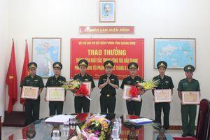 Khen thưởng Đồn Biên phòng Bắc Sơn về thành tích chống buôn lậu