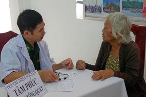Đồng Tháp: Hơn 500 người dân được khám chữa bệnh, cấp thuốc miễn phí