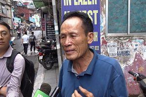 Vụ cháy sát Bệnh viện Nhi: Công an mời ông Hiệp 'khùng' lên làm việc
