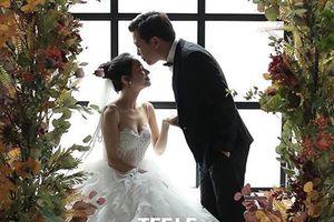 Lộ ảnh cưới đầu tiên của Nhã Phương và Trường Giang