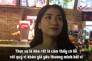 Hòa Minzy cảm thấy có lỗi sau sự cố với fan kpop