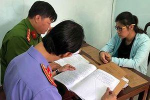 Đắk Lắk: Bắt nữ giám đốc trốn truy nã tại Hải Phòng