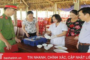Nghi Xuân có 73 cơ sở kinh doanh ăn uống 'chưa sạch'