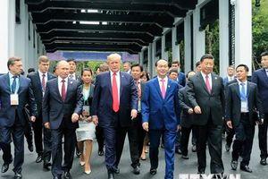 Những hình ảnh nổi bật về hoạt động của Chủ tịch nước Trần Đại Quang