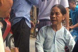 Cháy trên đường Đê La Thành: Xuất hiện người thân đến tìm thi thể nạn nhân