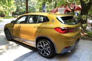 BMW X2 bản cao nhất đấu 'Mẹc' GLA sắp bán ra tại Việt Nam