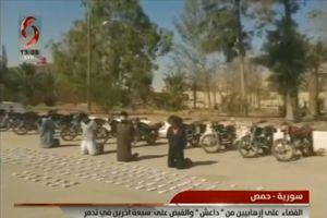 Quân đội Syria chiếm bệnh viện dã chiến thánh chiến, bắt sống 7 tay súng IS trên sa mạc Homs