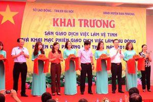 Hà Nội: Mở sàn giao dịch Việc làm vệ tinh tại huyện Đan Phượng