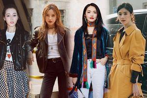 Triệu Vy, Diêu Thần, Địch Lệ Nhiệt Ba cùng Jung Eun Chae đẹp như hoa tại 'Tuần lễ thời trang Milan 2018' ngày 3