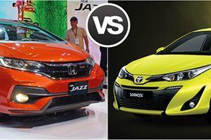 Honda Jazz và Toyota Yaris: Hatchback nào phù hợp với phái đẹp?