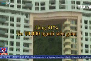 Hong Kong có nhiều người siêu giàu nhất thế giới