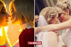 Đám cưới 'tình bể bình' của cặp đôi đồng tính nữ