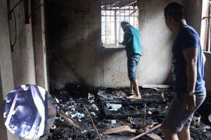 2 thi thể bị cháy ở nhà ông Hiệp 'khùng' là cặp vợ chồng chăm con sinh non