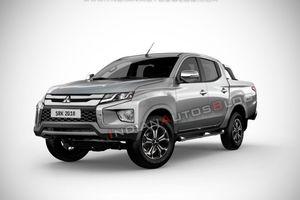 Lộ diện hình ảnh mới nhất về bán tải Mitsubishi Triton 2019