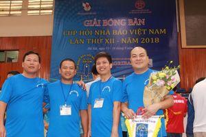 'Làn gió mới' tại làng bóng bàn những người làm báo Việt Nam