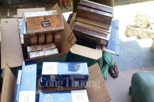 Quảng Bình: Phát hiện và bắt giữ lượng lớn thuốc lá và hàng nhập lậu
