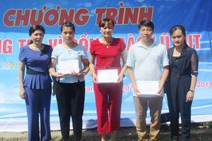 Gần 150 triệu đồng hỗ trợ người dân vùng lũ huyện Quan Hóa, Mường Lát