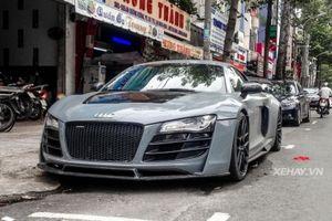 Audi R8 V8 độ khủng nhất Việt Nam đổi màu xám tro