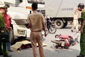 Nữ sinh viên bị cuốn dưới gầm xe tải tử vong